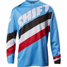 Джерси детская  White Tarmac Youth Jersey Blue
