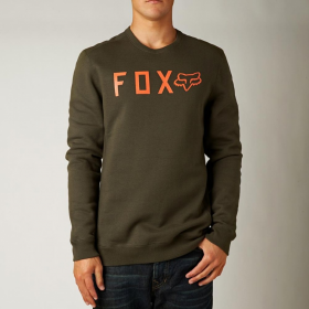 Толстовка Fox Disjoint Crewt Fleece Dark Fatigue