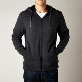 Толстовка Fox Roam Sasquatch Zip Fleece Heather Black