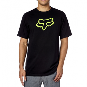 Футболка Fox Legacy Foxhead SS Tee Black/Green