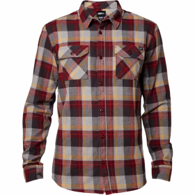 Рубашка Fox Traildust LS Flannel Burgundy