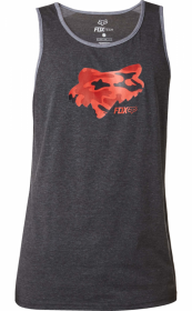 Майка Fox Stenciled Tech Tank Heather Black