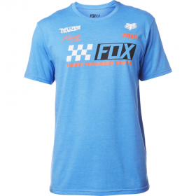Футболка Fox Repaired SS Tee Heather Blue