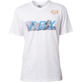 Футболка Fox Ghostburn SS Tee Optic White