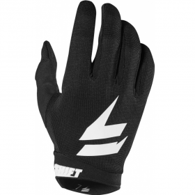 Перчатки White Air Glove Black