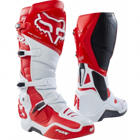 Мотоботы Fox Instinct Boot White/Red