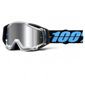 Очки 100% Racecraft Plus Daffed / Injected Silver Flash Mirror Lens