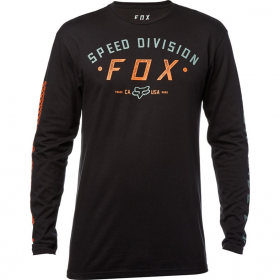 Толстовка Fox Ground Fog LS Tee Black