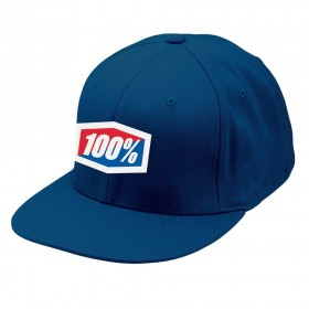 Бейсболка 100% Essential J-Fit Flexfit Hat Navy