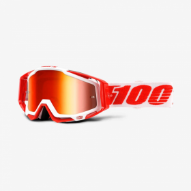 Очки 100% Racecraft Bilal / Mirror Red Lens