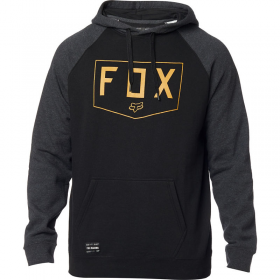 Толстовка Fox Shield Raglan Pullover Fleece Black
