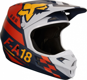 Шлем Fox V1 Sayak Helmet Orange
