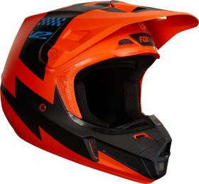 Шлем Fox V2 Mastar Helmet Orange