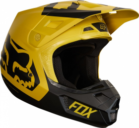 Шлем Fox V2 Preme Helmet Dark Yellow
