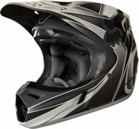 Шлем Fox V3 Kustm Helmet Grey