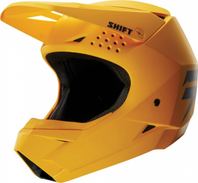 Шлем Shift White Helmet Yellow