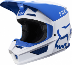 Шлем Fox V1 Mata Helmet Blue/White